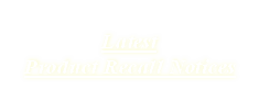 Latest Product Recall Notices